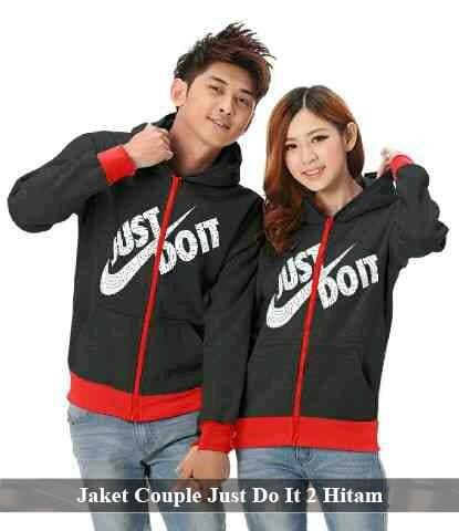 Foto Produk jaket couple just do it | jaket nike | jaket keren | jaket pasangan dari koleksi baju couple