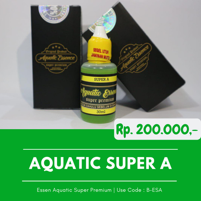 Foto Produk Umpan Ikan Mas Kilogebrus Galatama Essen Aquatic Super A Essen IkanMas dari Produk Green World Asli