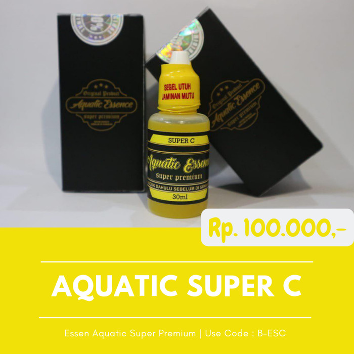 Foto Produk Essen Ikan Mas Essen Aquatic Super C Super Premium Original Produk dari Produk Green World Asli