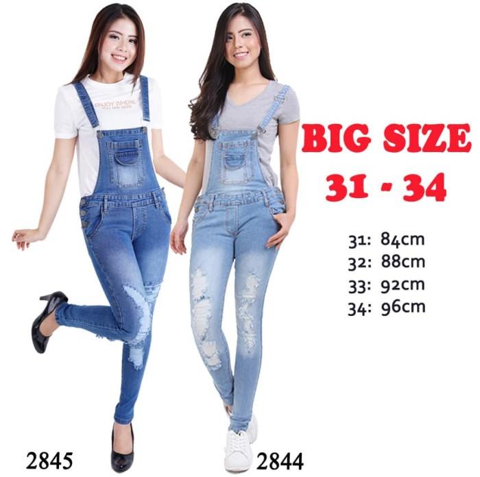 Jual Celana Kodok Untuk Orang Gemuk Overall Big Size Jumbo Murah Terdekat Biru 32 Dki Jakarta Sold Out Store Tokopedia