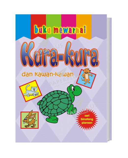 Jual Buku Mewarnai Binatang Jinak Kura Kura Kota Tangerang