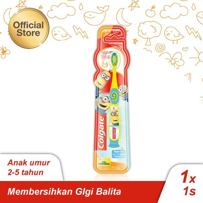 Jual Colgate Kids Minion Toothbrush Sikat Gigi 2-5yo - Colgate Palmolive -  OS  0ab9b43998