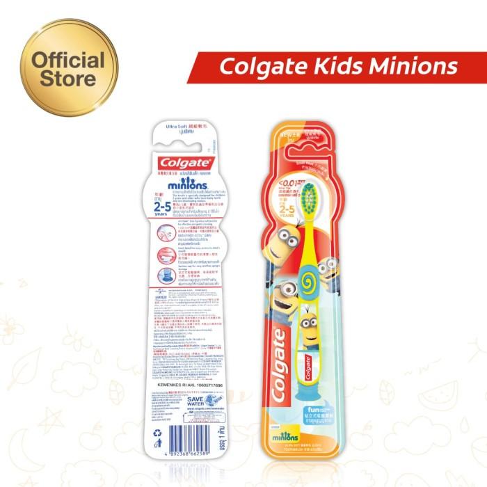 Jual Colgate Kids Minion Toothbrush Sikat Gigi 2-5yo - Colgate ... f070f229c5