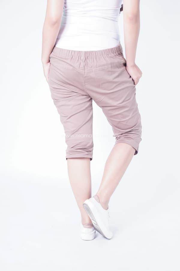 Jual Celana Pendek Ibu Hamil Katun Stretch Kancing Depan Murah - CLD ... 8e5e5676c1