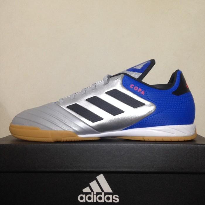 harga Sepatu futsal adidas copa tango 18.3 in silver blue db2452 original Tokopedia.com