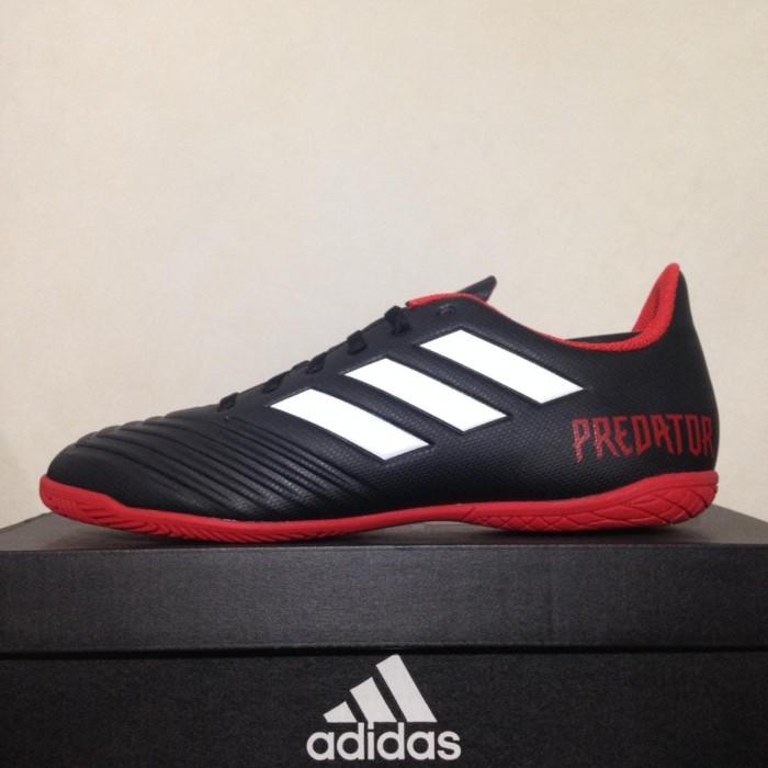 5074e5fb4e00 Sepatu Futsal Adidas Predator Tango 18.4 Black Red DB2136 Original