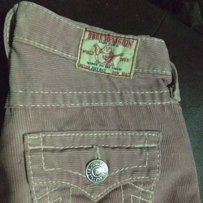 395a08b09 celana jeans cordoray TRUE RELIGION ORIGINAL MADE IN USA section JOEY