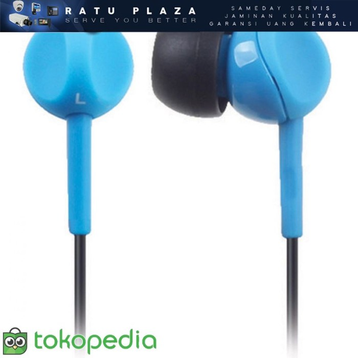 Sennheiser CX 213 Earbud Earphone - Biru O