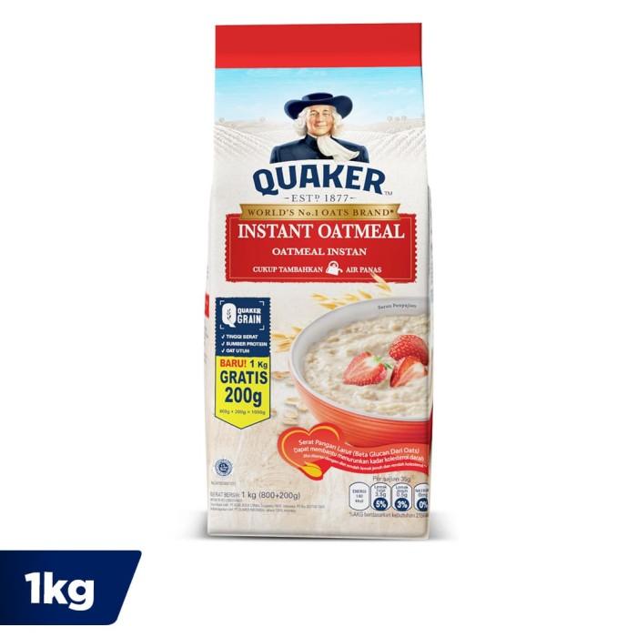 Quaker Instant Oatmeal 800 200 Gr FS