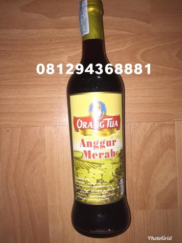 harga ANGGUR MERAH GOLD CAP ORANG TUA 620ml Tokopedia.com