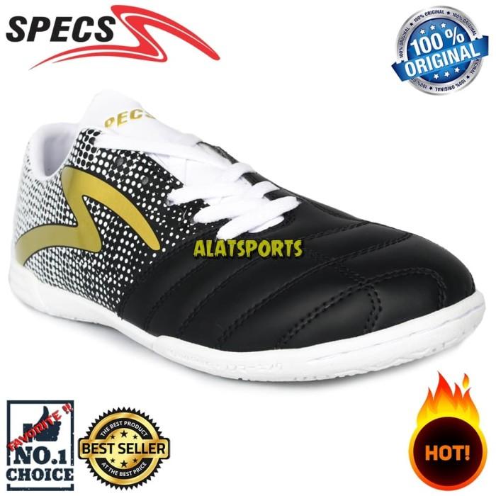 Jual Sepatu Futsal Pria Specs Equinox IN 400773 - Black ORIGINAL ... 50670c6c55