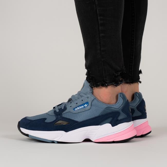 Jual Sepatu Adidas Falcon Raw Grey Pink