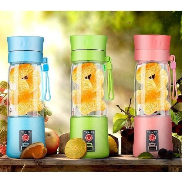 Shake N GO Blender Mini Juice Cup Portable and Rechargeable Battery