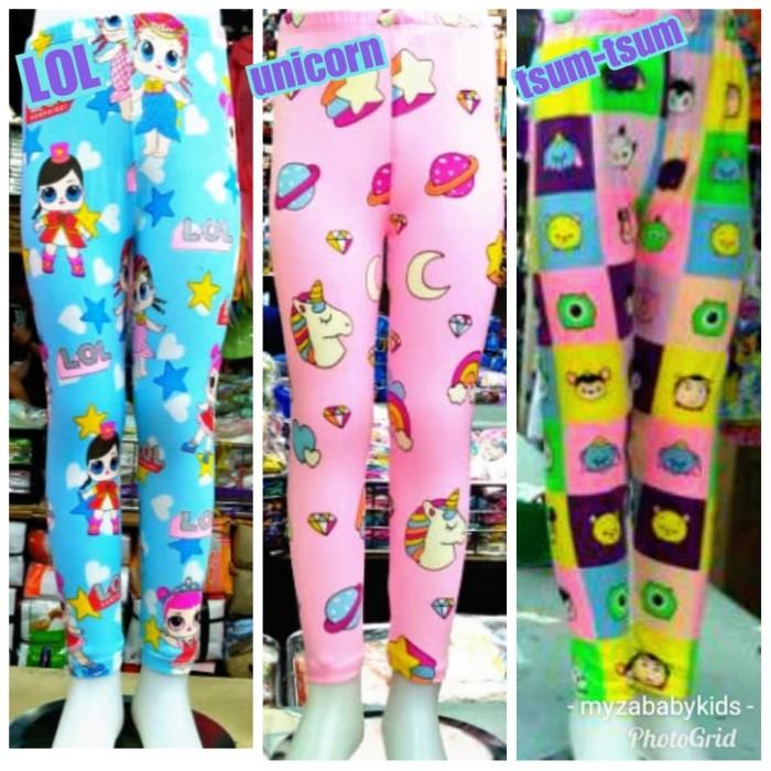Jual Legging Anak Celana Leging Panjang Karakter Kartun Jakarta Pusat Myza Shop Tokopedia