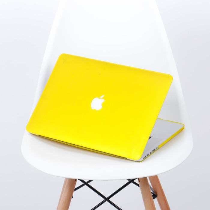 Case macbook pro retina 13 inch yellow matte