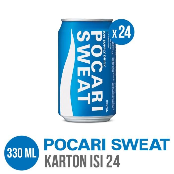 harga Pocari sweat can 330 ml karton isi 24 Tokopedia.com