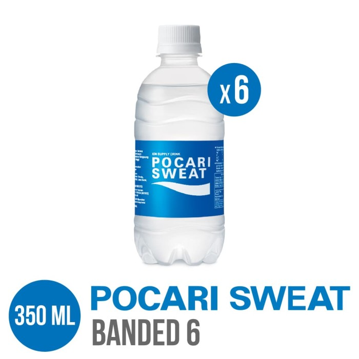 harga Pocari sweat pet 350 ml banded 6 Tokopedia.com