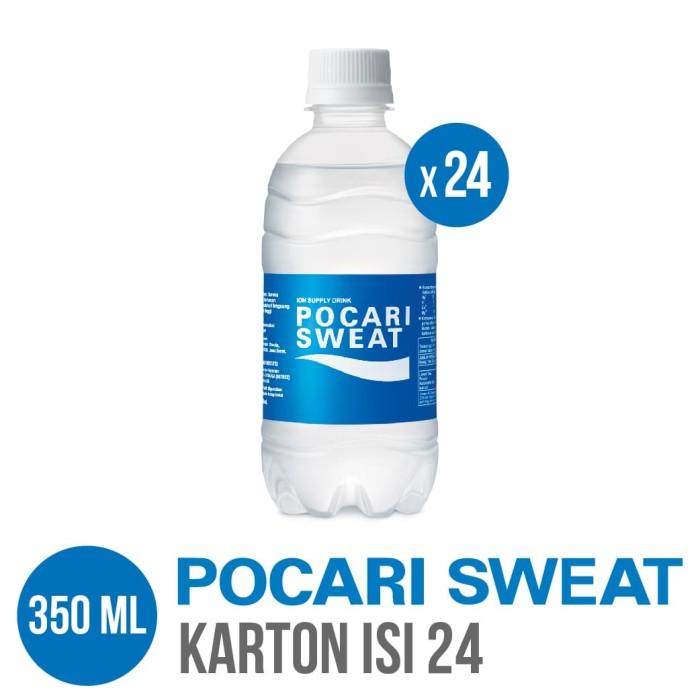 harga Pocari sweat pet 350 ml karton isi 24 Tokopedia.com
