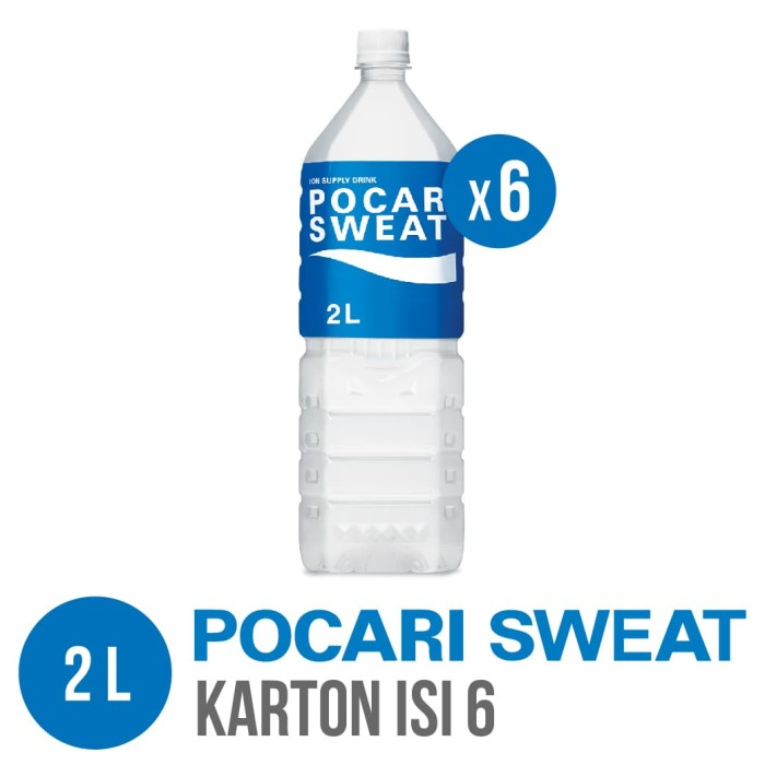 harga Pocari sweat pet 2 l karton isi 6 Tokopedia.com