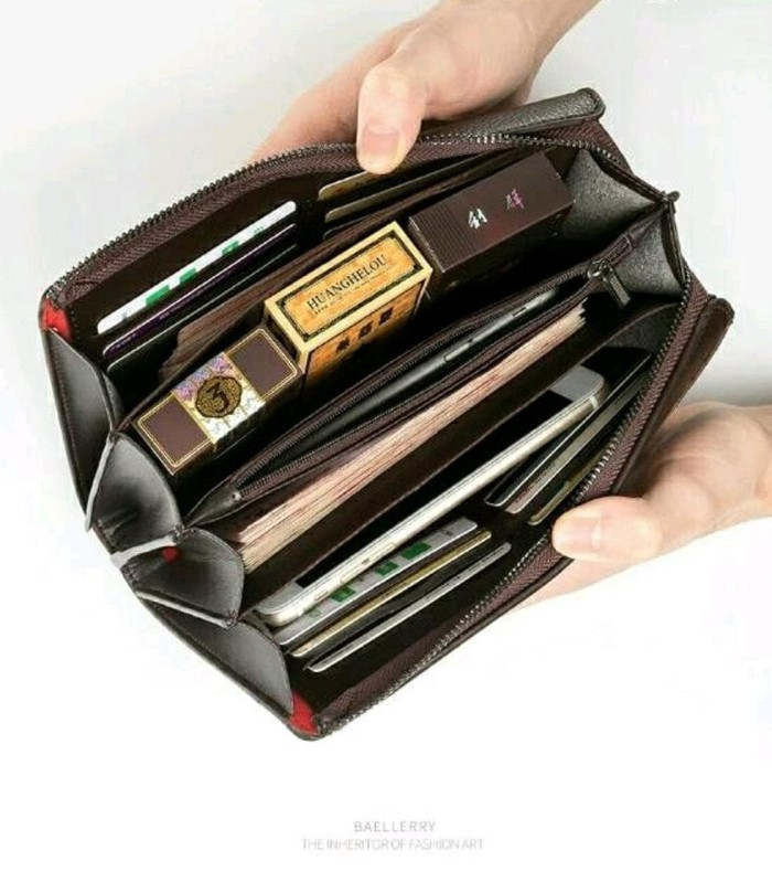 ready Dompet Pria - Handbag Pria Wanita BAELLERRY BLACK ORIGINAL NEW 4e9f5cb43f