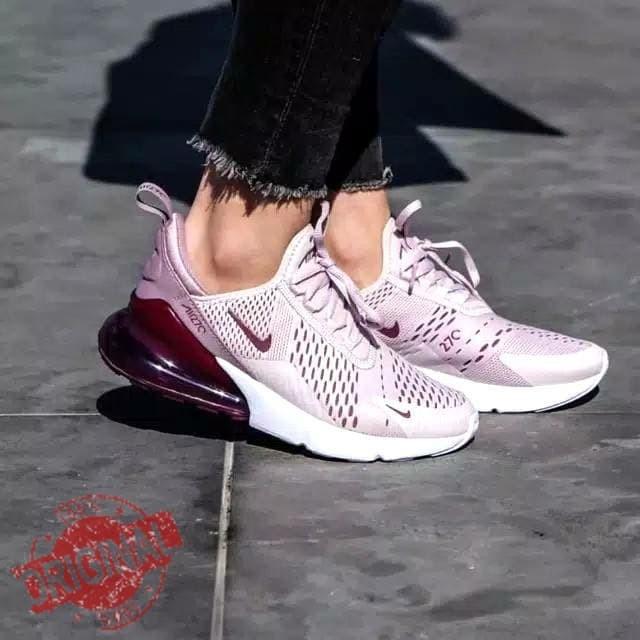 ca7b84480a8 Jual Sepatu Ori Nike Airmax 270 Barely Rose Women Premium Quality ...