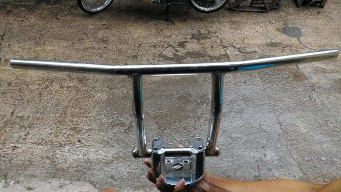 Foto Produk riser + dudukan + stang promen honda c70.c50 dari Erfino745