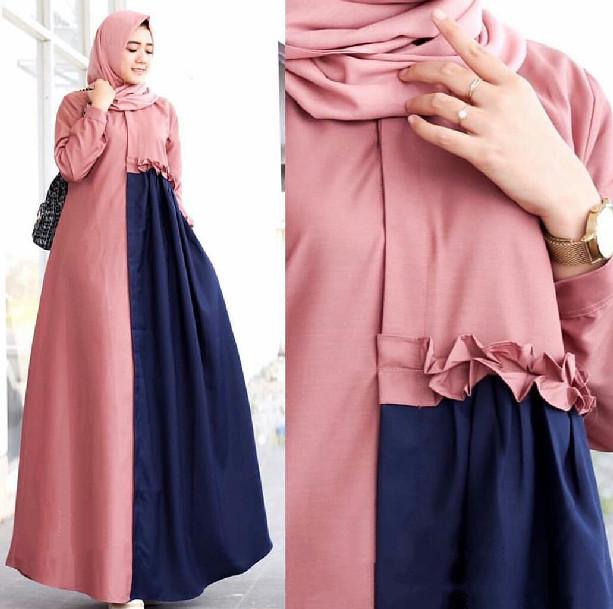 Jual Baju Myslim Modern Nimas Gamis Maxi Moscrepe Best Seller Kab Bandung Gamis Gantina Tokopedia