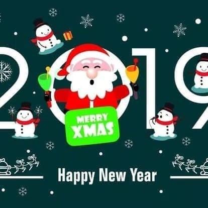 Jual Stiker Natal Dan Tahun Baru 2019 Merah Kota Kediri Neojack Tokopedia