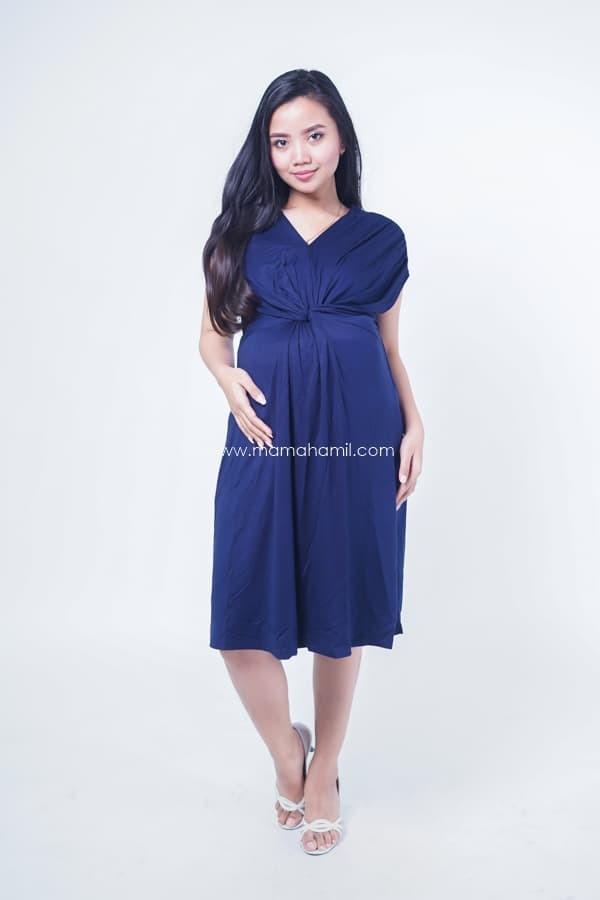 Jual Dress Ibu Hamil Menyusui Pesta Racheline Dress Casual Murah Dro 939 Hitam Kota Surabaya Baju Hamil Butik Tokopedia