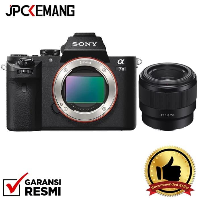 Foto Produk Special Package...!!! Sony A7II Body + Sony FE 50mm f/1.8 dari JPCKemang