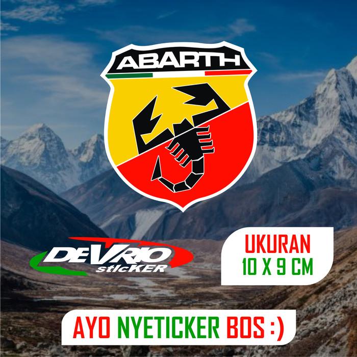 Jual Stiker Moto Gp Logo Abarth Cutting Sticker 9 X 10 Cm Kab Pemalang Devrio Online Sticker Tokopedia