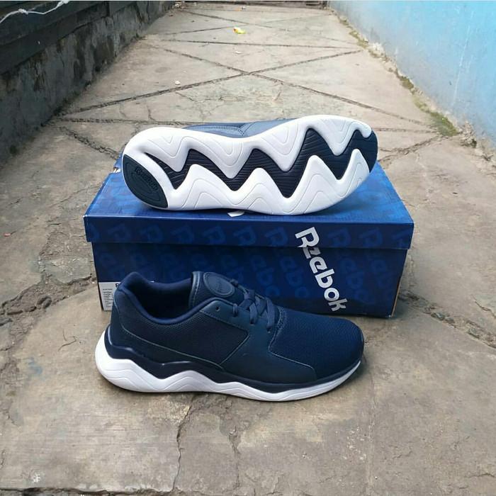 Jual Sepatu Running Sepatu Lari Reebok Royal Nova LTE Navy ORIGINAL ... b2a54ca67a