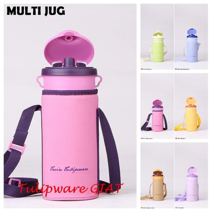 Foto Produk Botol Minum 1 Liter Bertali / Teko Pitcher / Multijug Twin Tulipware dari TULIPWARE collection