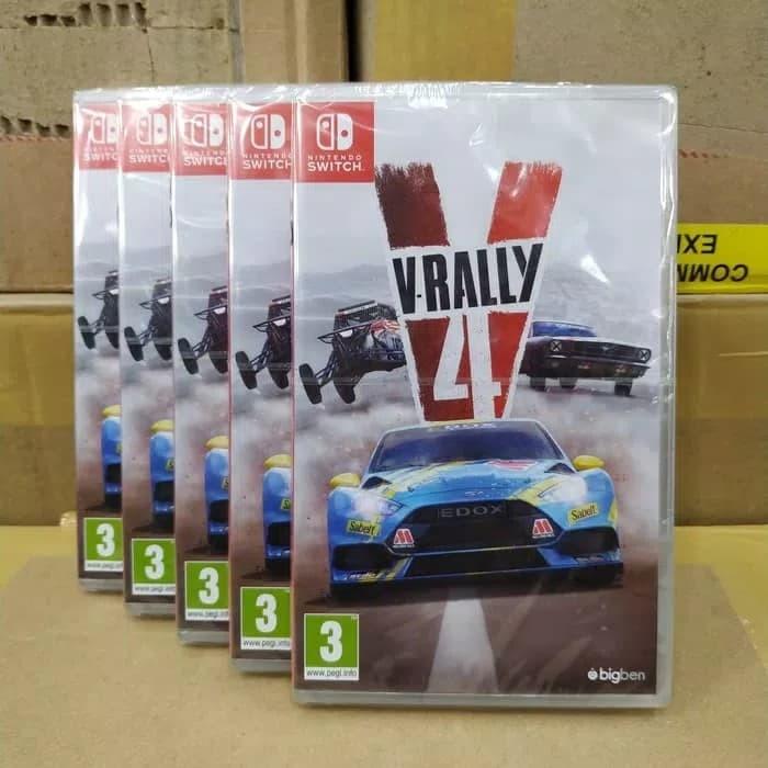 Jual Switch Game V Rally 4 Kios Makmur Tokopedia