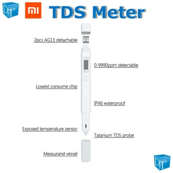 TDS Meter Xiaomi Original - Water Quality Tester - Digital
