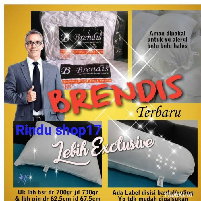 Foto Produk bantal brendis bantal hotel ( 1 set bantal dan guling ) dari Rindu shop17