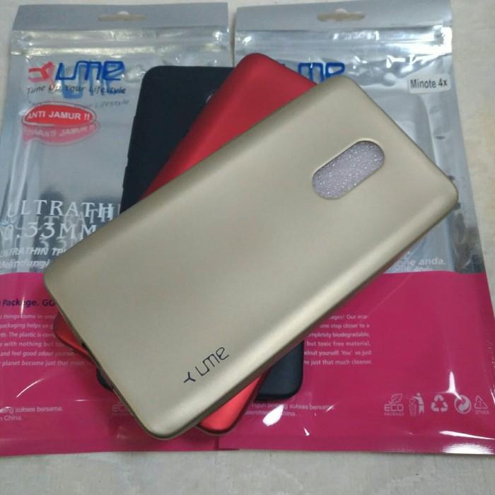 Xiaomi Redmi Note 4x Case Emerald / Softcase Doff Original Ume - Hitam