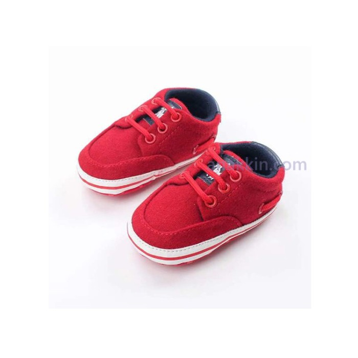 Jual Prewalker Sepatu Bayi Polo Red Kiddos Shoes Anak Murah Kecil ... 061c18bb19