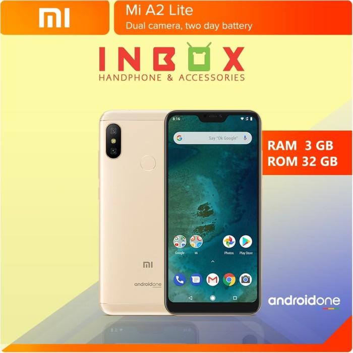 Jual Handphone Xiaomi Mi A2 Lite Ram 3gb Rom 32gb Garansi
