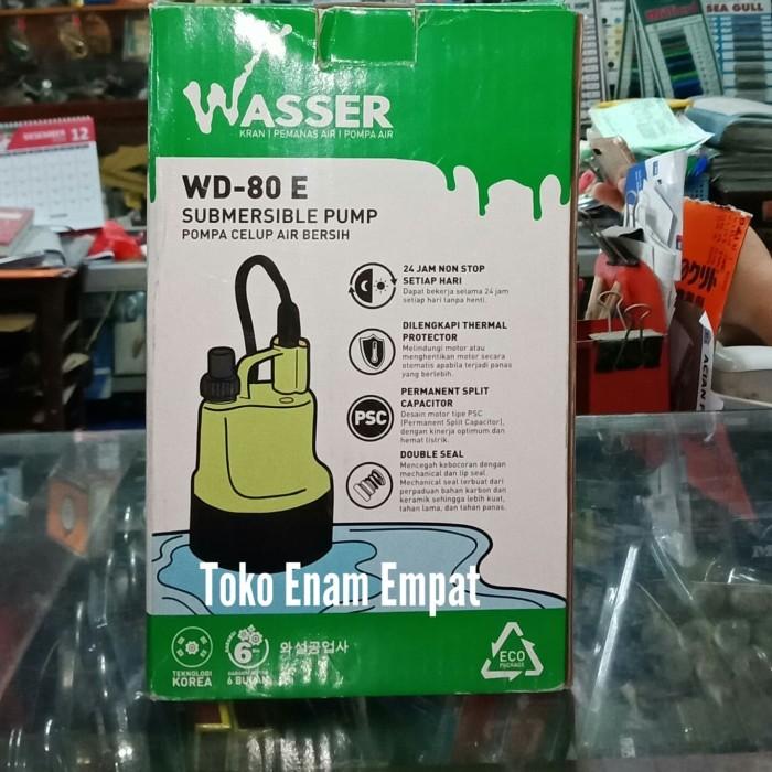 Pompa celup air bersih WASSER WD - 80 E