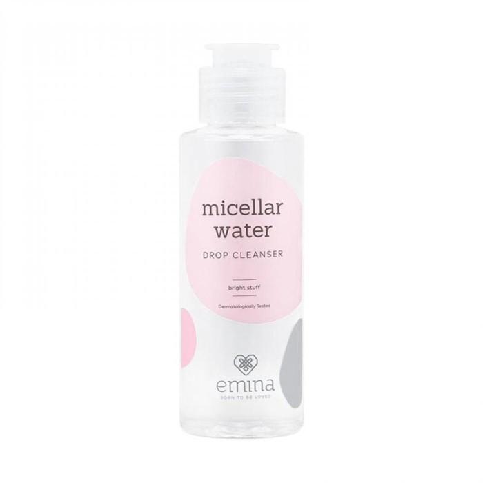 Emina Micellar Water Drop Cleanser – Bright Stuff 100ml - Blanja.com