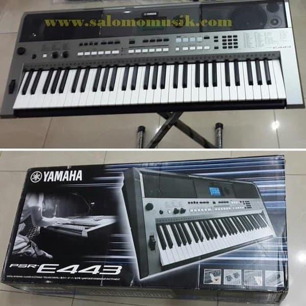 Super Sale... Keyboard Yamaha Psr E443 Original Garansi Ready