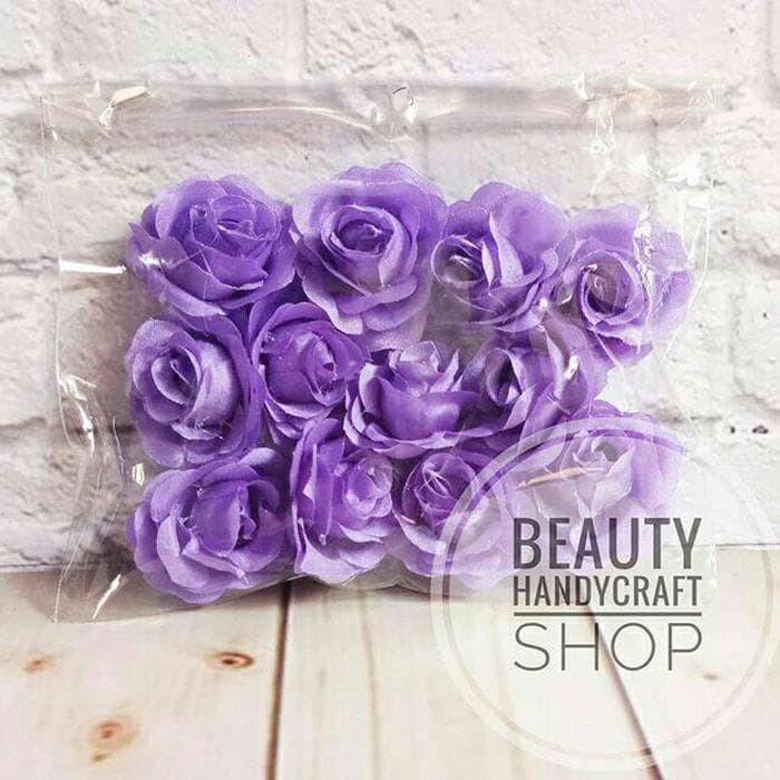 Jual Bahan Craft Bunga Mawar Korsase Per Lusin Warna Ungu Muda Kab Bandung Kain Flanel Craft Supply Tokopedia