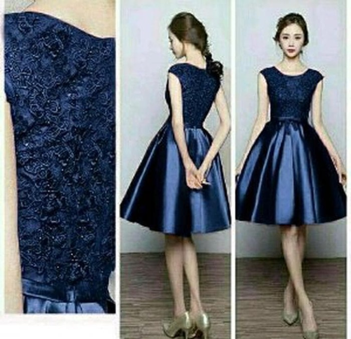 Jual Unik Dress Pesta Wanita Terbaru Gaun Dress Pesta Limited