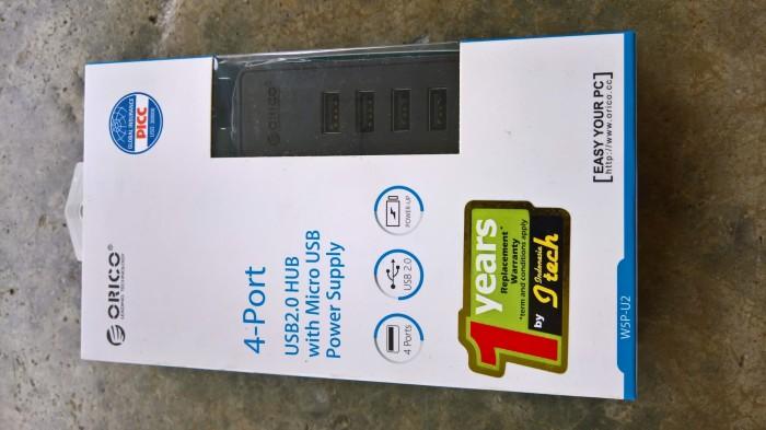 Jual Orico WSP-U2 USB Hub 2 0 - Penting utk ekspansi MR3020 + LEDE/Openwrt  - Kab  Toba Samosir - Firesale | Tokopedia