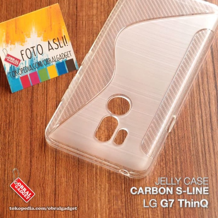 Foto Produk Soft Jelly Case LG G7 ThinQ Softcase Silikon Silicon Casing Cover Gel dari Obral Gadget