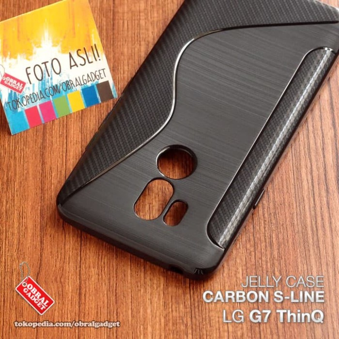 Foto Produk Soft Jelly Case LG G7 ThinQ Softcase Silikon Silicon Casing Cover TPU dari Obral Gadget
