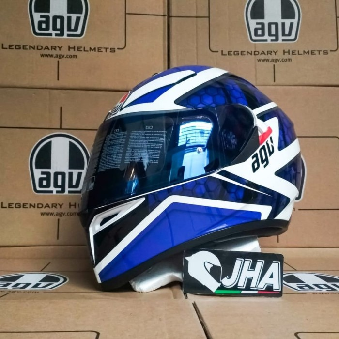 Jual Agv K3 Sv Pulse Blue Non Sni Limited Promo Price Kota Semarang Jual Helm Agv Tokopedia