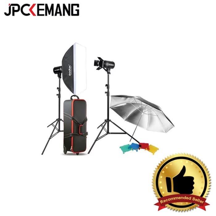 Foto Produk Godox Studio Flash Kit E300-F dari JPCKemang