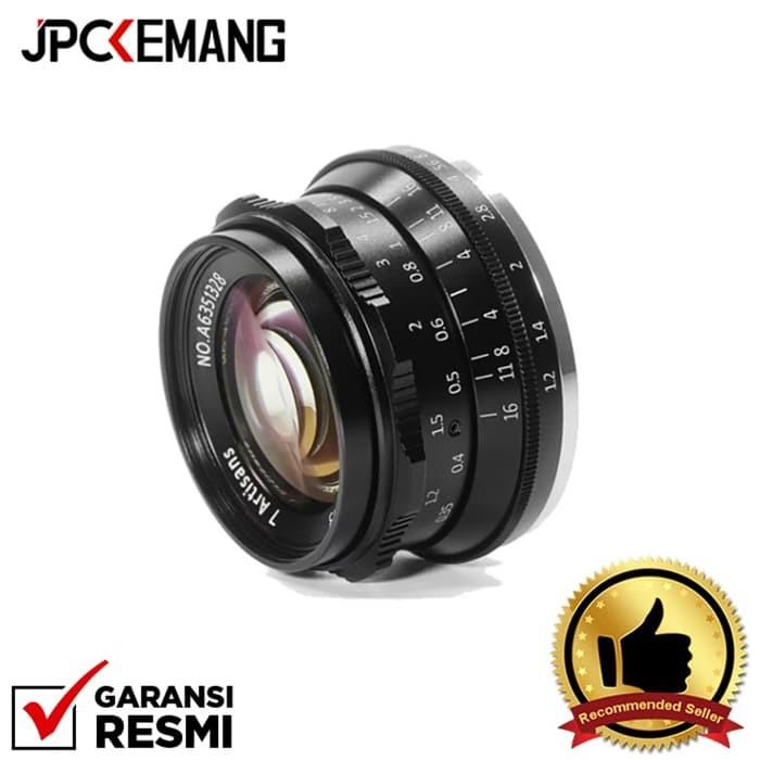 Foto Produk 7Artisans 35mm f/1.2 for Fujifilm X Mount dari JPCKemang